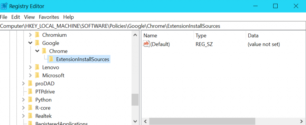 The Windows registry key HKEY_LOCAL_MACHINE\SOFTWARE\Policies\Google\Chrome\ will show you all the enabled policies.